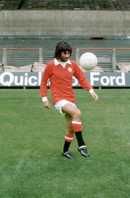 Happy Birthday to George Best, who would have been 73 today. What a once in a generational talent! Icon.