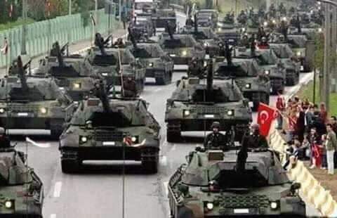 مبروك #تركيا مبروك أردوغان و تركيا تفاجئ أمريكا وإسرائيل والدول الغربية وتكشف عن أحدث صاروخ مجنح موجه بالليزر .. صناعة تركية 100%و في الصورة الاخرى الثانية الاحتفال بصناعة 3000 دبابة صناعة تركية 100% هذا هو اردوغان و تركيا التي بناها #اردوغان الذي تصفونه بالاخواني
