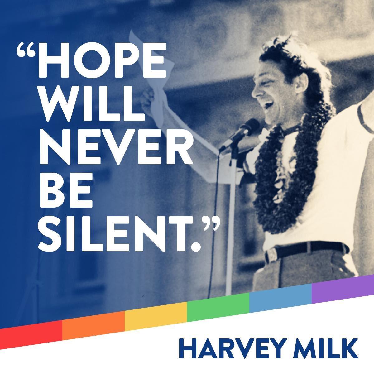Happy Birthday Harvey Milk (1930 1978) ...