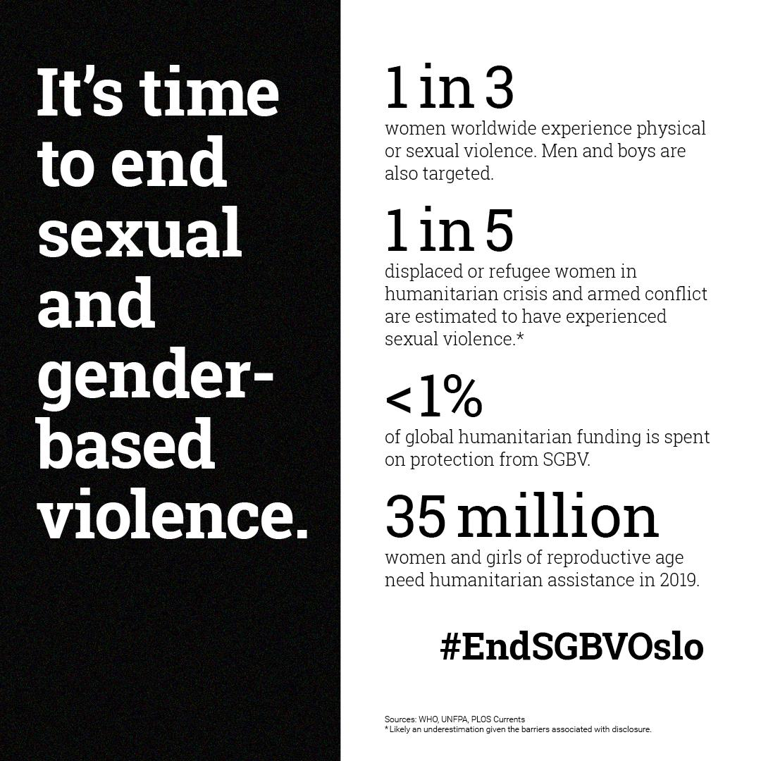 United Nations's photo on #EndSGBVOslo