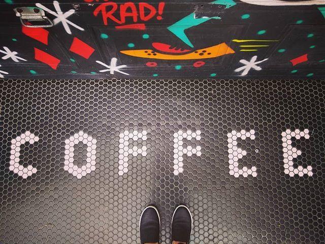 Rad Coffee  #coffee is #rad #ihavethisthingwithfloors @ihavethisthingwithfloors https://t.co/u5duuBiEv5 https://t.co/cO3gvHESnd
