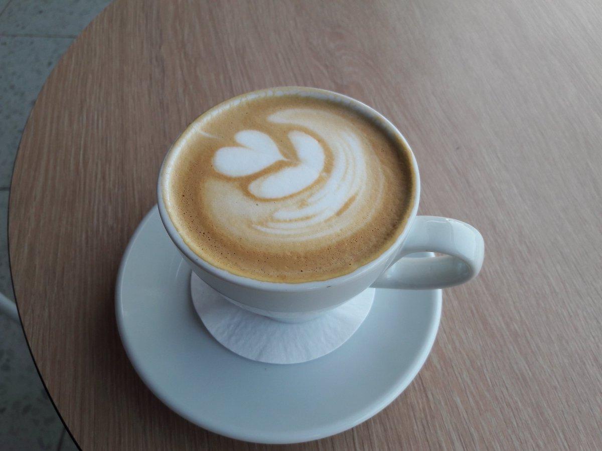 cappuccino guest coffee @OutpostRoasters #Brazil Café Amárena #coffee #CyprusCoffeeTrail #Protaras #Cyprus https://t.co/mLJArQZAIj