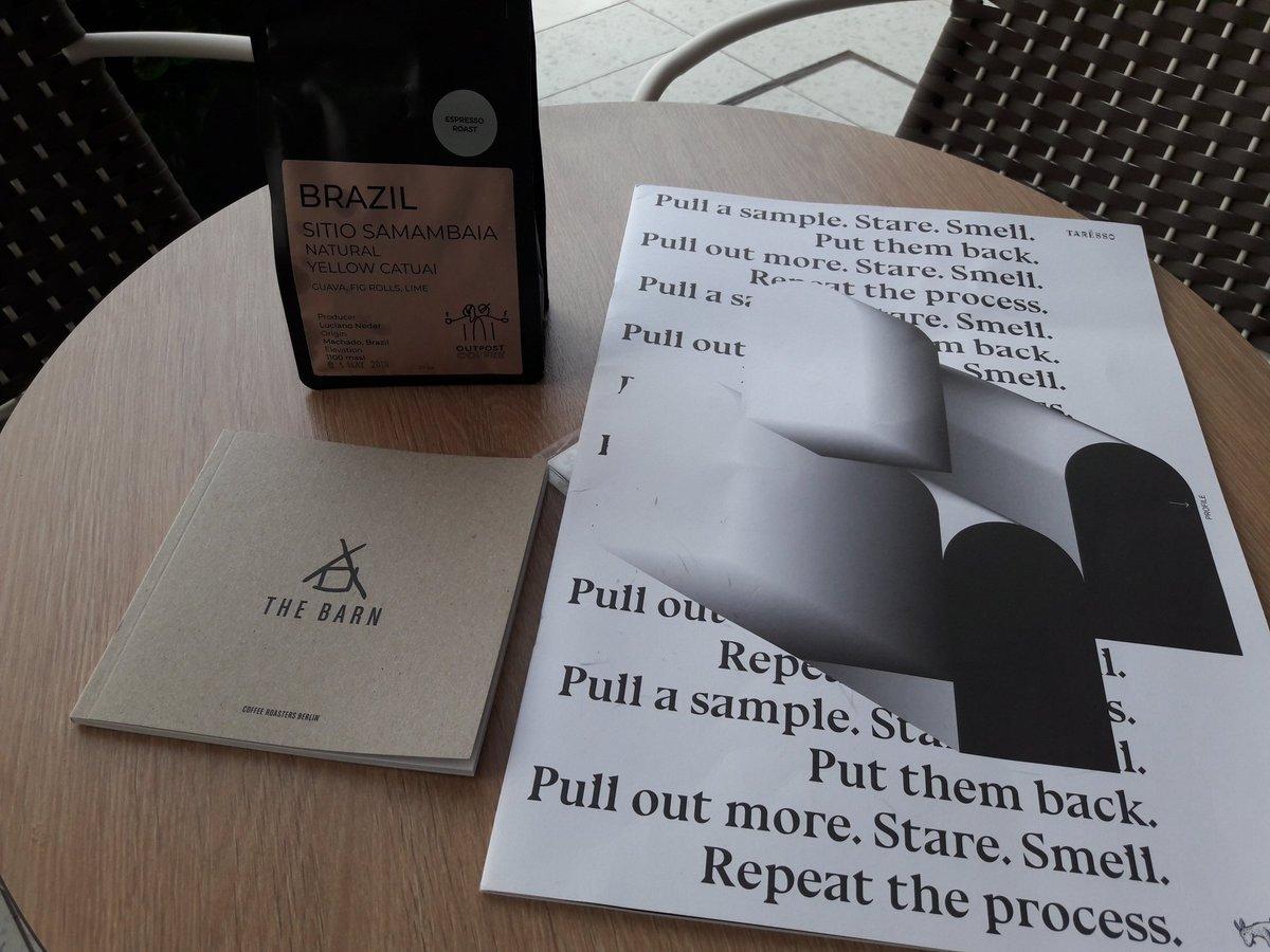 coffee @OutpostRoasters @THEBARNBERLIN taresso Café Amárena #coffee #CyprusCoffeeTrail #Protaras #Cyprus https://t.co/UoVZnvPLXE
