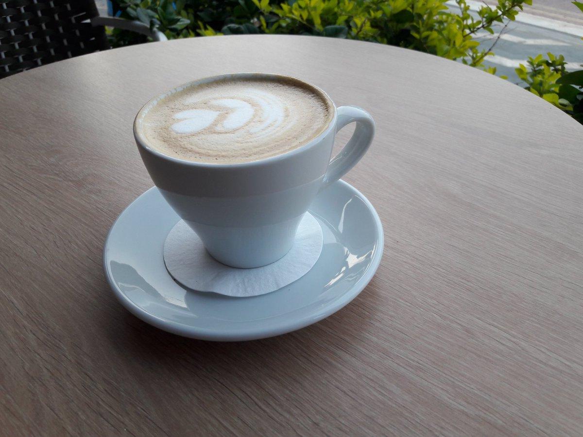 cappuccino guest coffee @OutpostRoasters #Brazil Café Amárena #coffee #CyprusCoffeeTrail #Protaras #Cyprus https://t.co/55TDQHsiZo