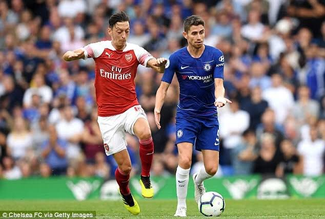 """Jorginho on Europa League final against Arsenal: """"A great international final, we are happy to go and play and we are working calmly, it will certainly be a great game."""" #CFC"""