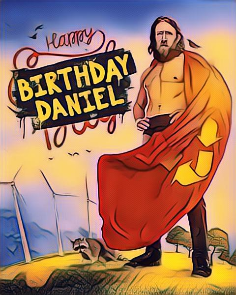 Happy Birthday to the Planets Champion.  DANIEL BRYAN.  Have a great day, champ