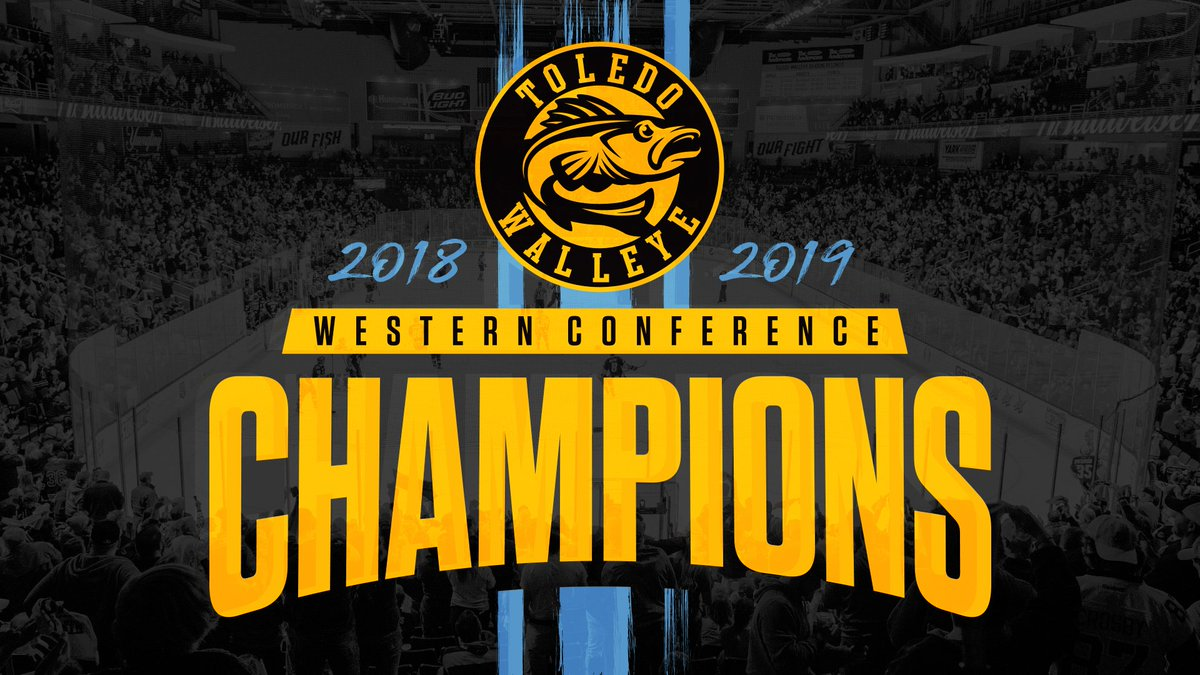 🏆 HOLY TOLEDO YOUR TOLEDO WALLEYE ARE WESTERN CONFERENCE CHAMPIONS!! 🏆