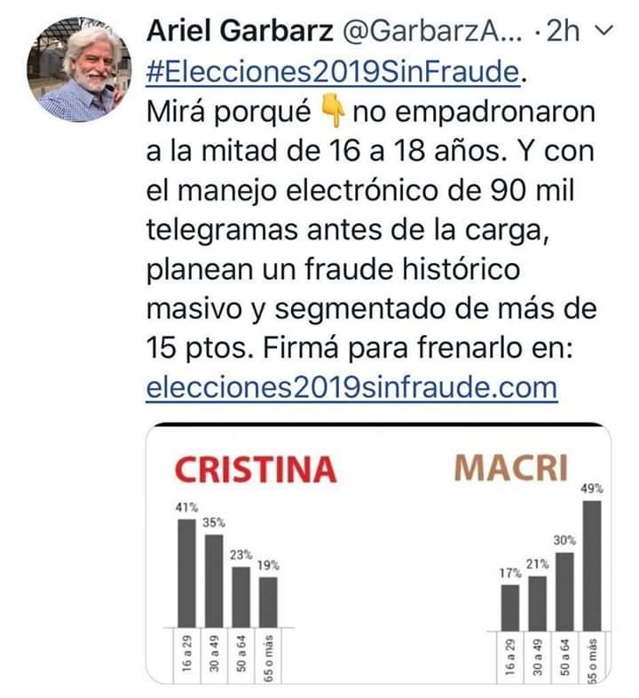 PeronistasUnidos's photo on #FuerzaCristina