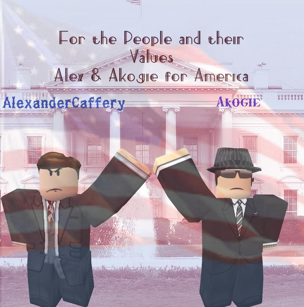 Me and @ADCaffery Pledge to help this nation grow if elected into office, we will stop the chain of impeachments and corruption that plagues our community so, put your vote where it counts and vote Alex and Akogie for America!https://discord.gg/wAuH3d  https://twitter.com/Akogie_rblx/status/1131379989377634306/photo/1pic.twitter.com/YUkrizxzFu