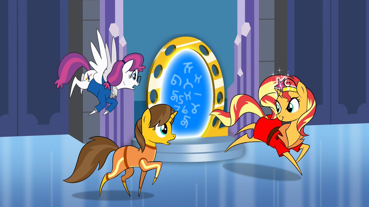 ATTENTION: Please join us in welcoming back @RebeccaShoichet to BronyCon for a second time! Rebecca, best known as the voice for Sunset Shimmer, is joining a every growing stacked lineup for our final mission this August!  To learn more about her visit  http:// bronycon.org/guests  &nbsp;  . <br>http://pic.twitter.com/ZYZEvTSzpL