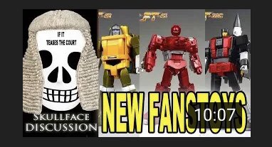 Today we tease the court with painted reveals of #Fanstoys #brawn #warpath and #skydive https://youtu.be/AU3TbYK8loE  #aerialbots #superion #transformers #3rdparty