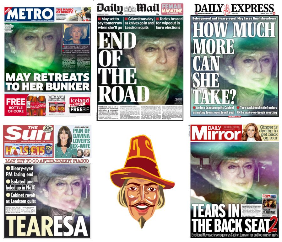 When a picture says a thousand words.#tomorrowspaperstoday