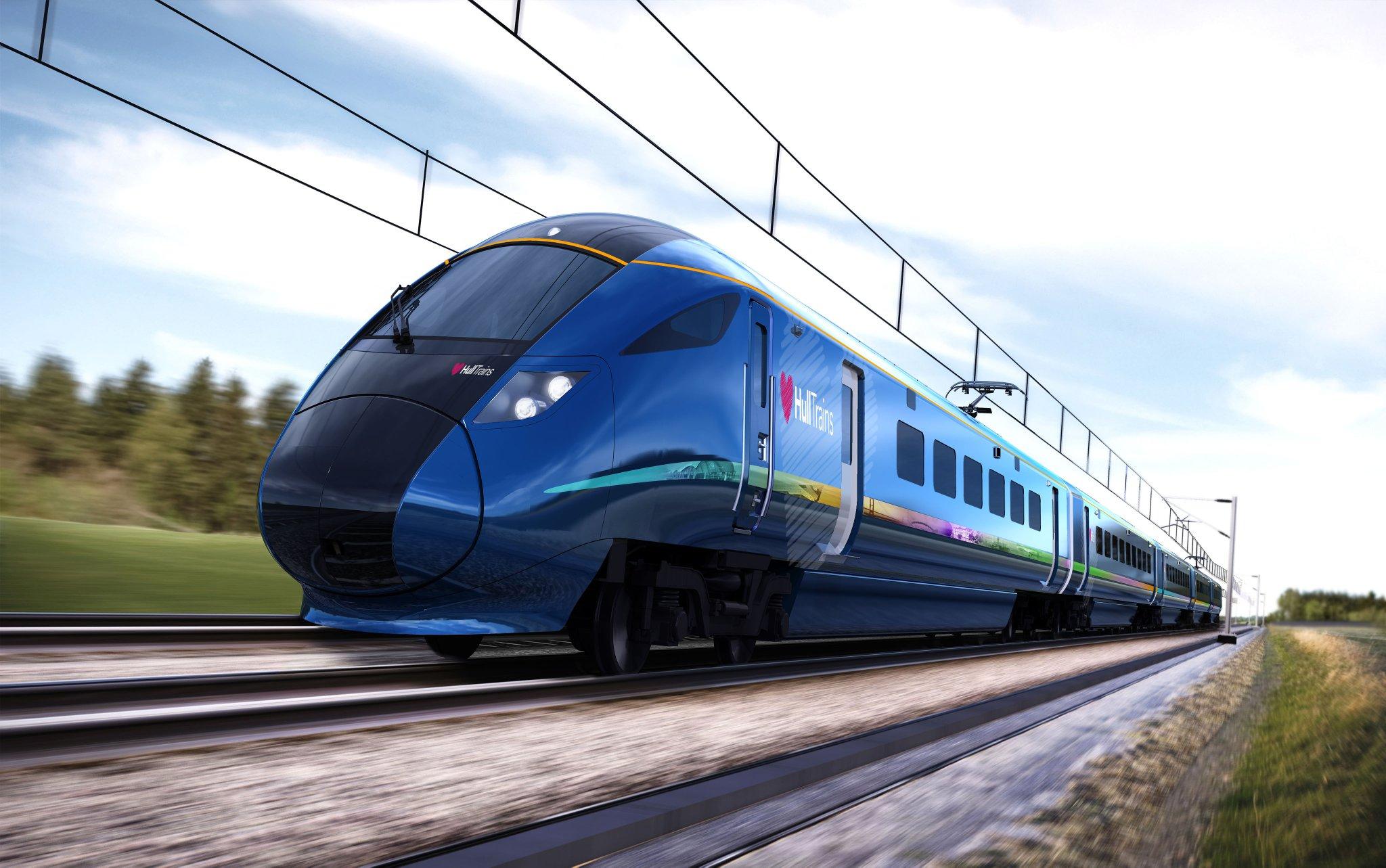 Синие поезда картинки