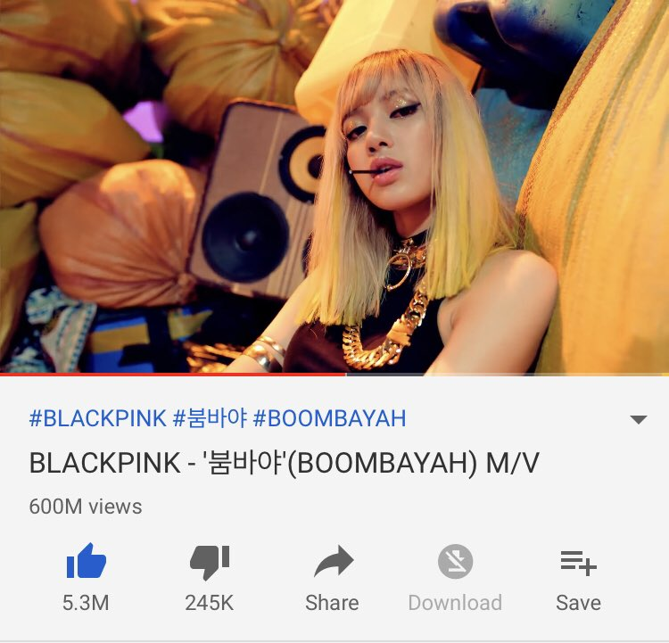 boombayah600m hashtag on Twitter