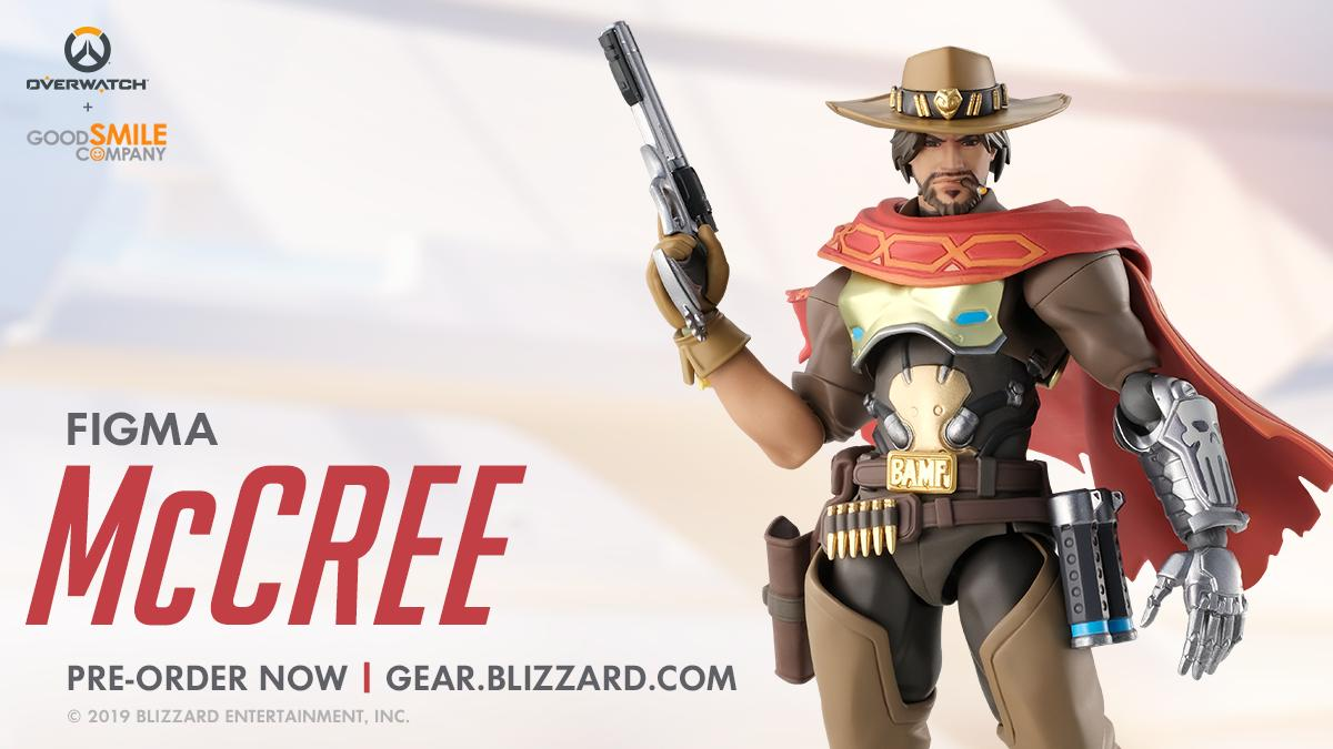 You know what time it is.  Ride off into the sunset with #Figma McCree. Pre-order yours today.     http:// Blizz.ly/FigmaMcCree  &nbsp;  <br>http://pic.twitter.com/7TDAckAAyN
