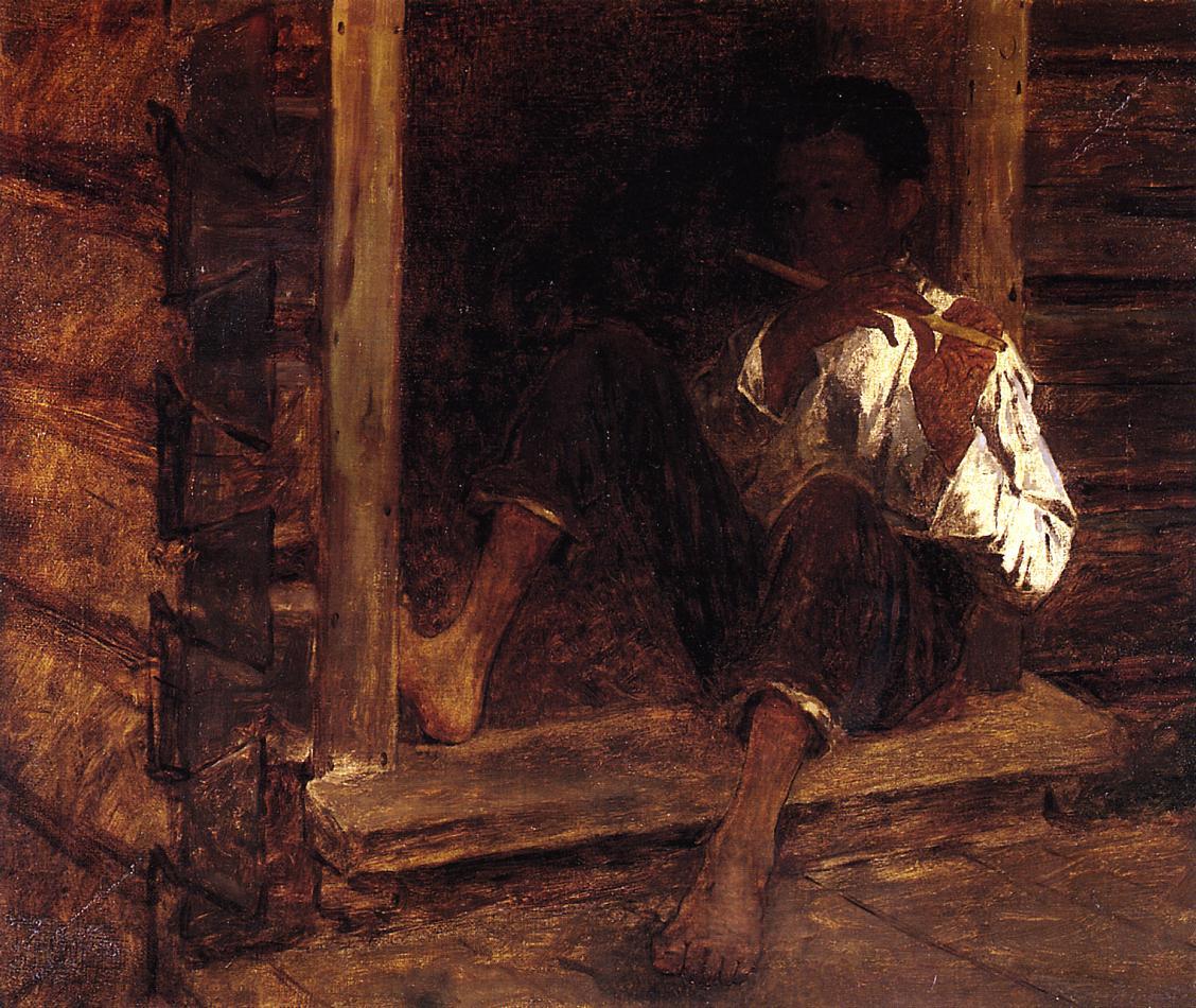 Negro Boy, 1860 #realism #johnson <br>http://pic.twitter.com/rv7XrPwvjh