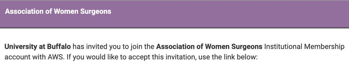 So excited to be entering a #SurgResidency that provides institutional membership to @WomenSurgeons! 😷😷😷  🙏🏻 @UBSurgResidency for supporting #WomenInMedicine  Wondering how your institution can join as well? See https://www.womensurgeons.org/search/custom.asp?id=4871… 👍🏻😷  #ILookLikeASurgeon