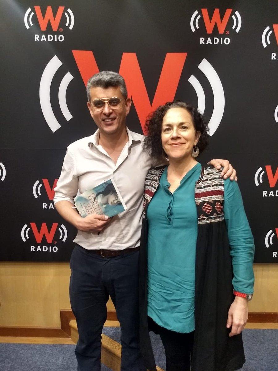¡Gracias @PrimoOlvera por la gran plática sobre #Cuandolleguesalotrolado! Hoy, no se pierdan la transmisión a las 10:30pm en #hora25 de @WRADIOMexico