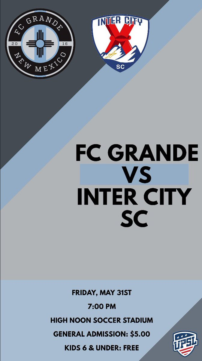 It's official ⚽️ #FCGrande #UPSL  – at High Noon Soccer Complex