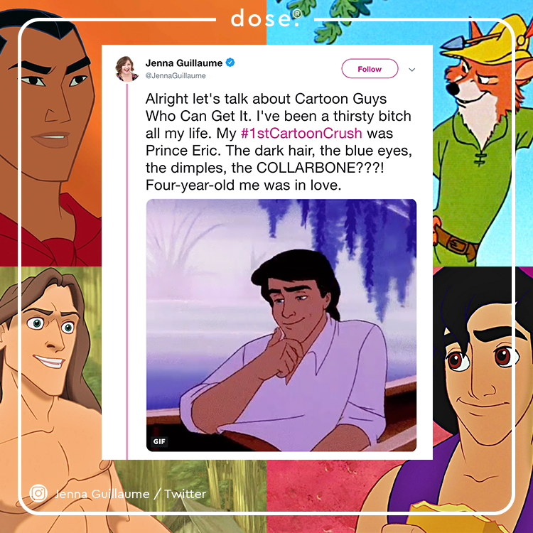 Who was your #1stCartoonCrush? 😍
