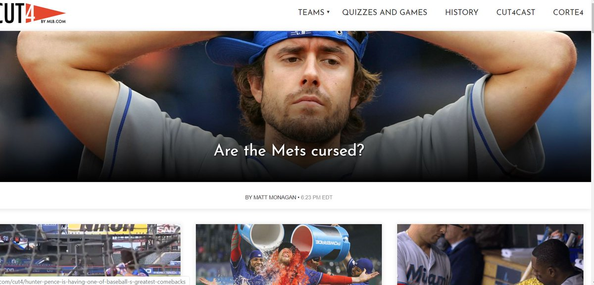 GUYS, the Cut4 homepage https://www.mlb.com/cut4/are-the-mets-a-cursed-team…