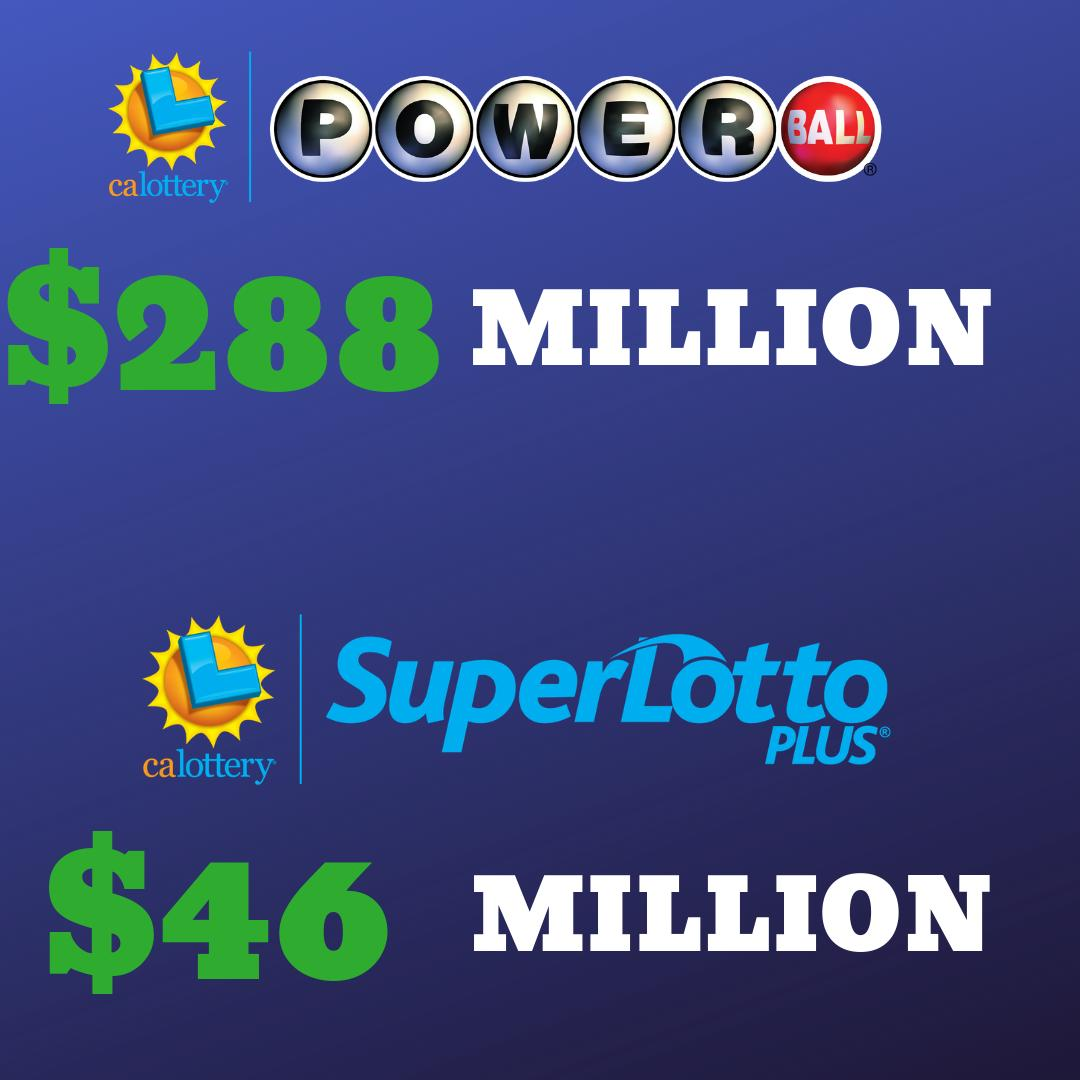 Your Wednesday night just got a little bit more exciting... #Powerball #superlottoplus #calottery
