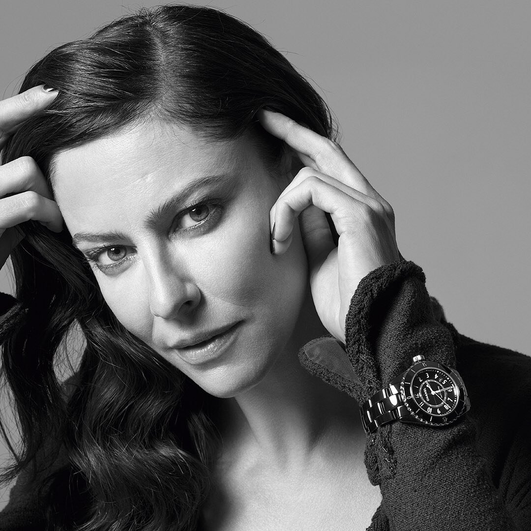 """""""Sensuality is the innate elegance of a woman."""" I found it in #AnnaMouglalis 🌺 #Chanel"""