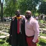 Image for the Tweet beginning: Congrats to Bakary, a #Classof2015