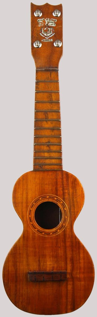 1920s Kumalae style B soprano Ukulele with modern replacement tuners