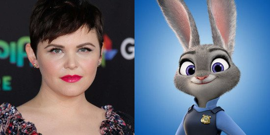 Happy Birthday to the voice of Judy Hopps from Zootopia, Ginnifer Goodwin!