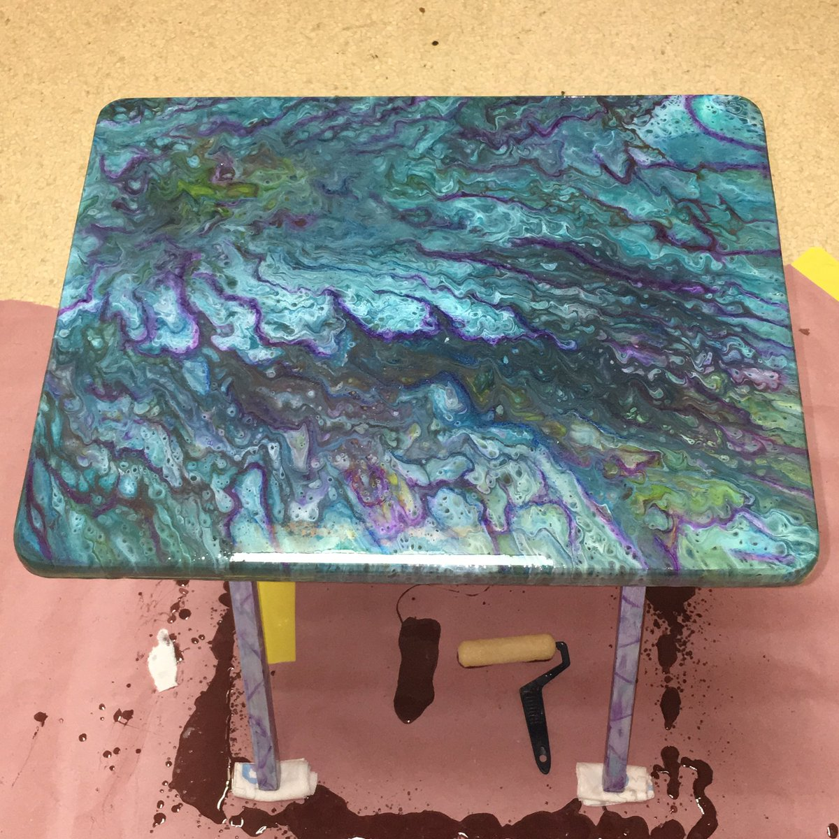 Eclectic Products On Twitter Kim Beautiful Job Refinishing This Tv Tray Msfrickentush Recycle Upcycle Woodworking Diy Unicornspit Famowood Glazecoat Https T Co 1hc2ftxvse Https T Co Pm7baqlr9z Https T Co Pbcbgeb6i7