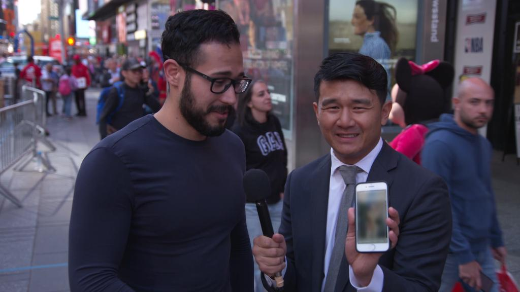 TONIGHT: @ronnychieng hits the streets of New York to talk about a new potential texting-while-walking ban.