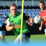 Image for the Tweet beginning: The Sharks hit the training