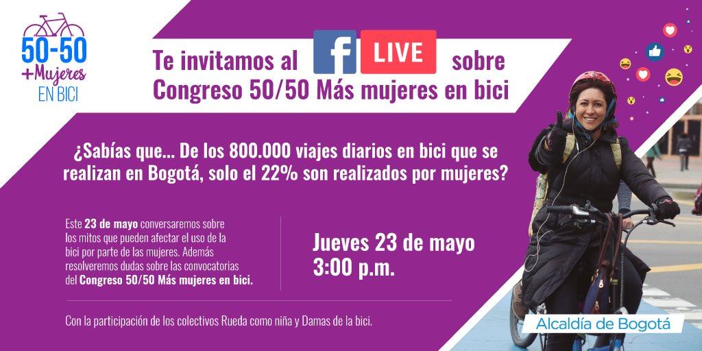 Movilidad Bogotá's photo on Facebook Live