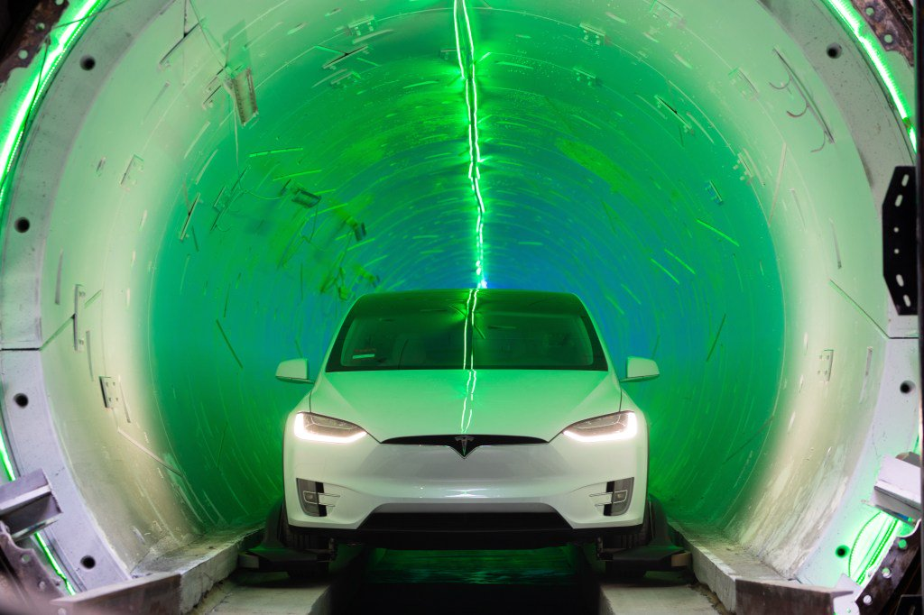 """Elon Musk's Boring Company lands $48.7M contract for underground """"people mover"""" in Las Vegas https://tcrn.ch/2WcA5uj by @kirstenkorosec"""