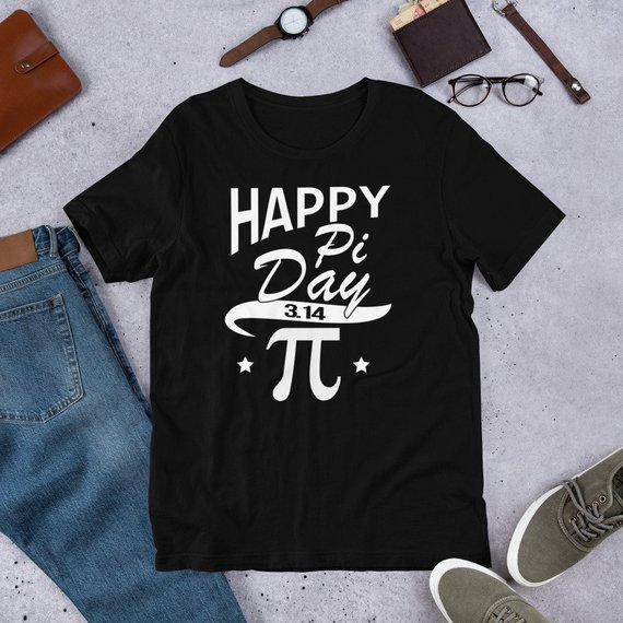 Happy Pi Day 3.14 Tee Shirt - Funny Mathematics #clothing #shirt @EtsyMktgTool https://etsy.me/2ERgYLj  #pi #funny #mathematics #math #piday