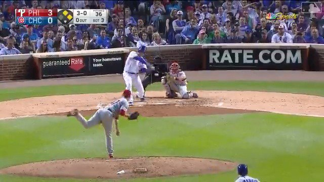 Image for the Tweet beginning: Rizzo with the 💣 Just