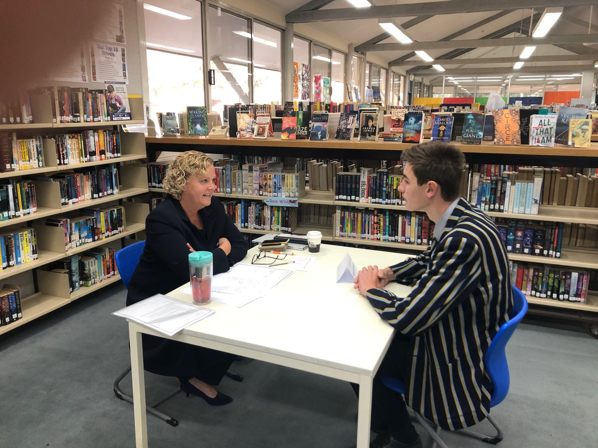 A great initiative of the P&F Association & CGS Careers Office - the annual P&F Mock Interviews, which help develop our Senior students' skills in preparation for job applications, interviews & the world. Thanks to the staff & parents involved who kindly volunteer their time.