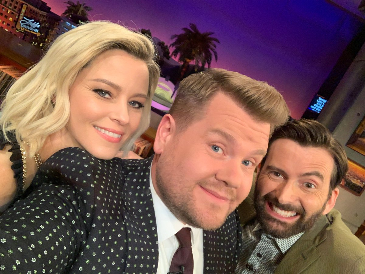 New #LateLateShow coming your way tonight with @ElizabethBanks, David Tennant and music from @billyraycyrus!
