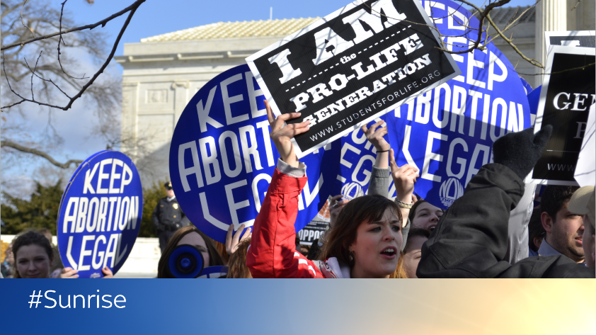 In the wake of Alabama's new #AbortionLaw, we discuss on #Sunrise whether abortion is 👍 or 👎.  Have your say below 👇 and tune in to our live debate at 08:30 ⏲️  📺 Sky channel 501 💻📱Watch live here http://po.st/STTltw