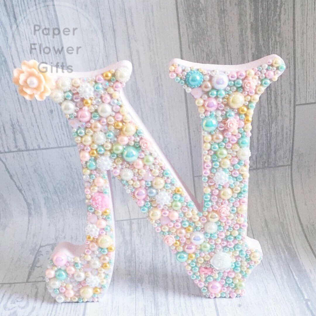 Excited to share this item from my #etsy shop: Personalised embellished letter N/girls room decor/free standing/nursery decor/letter/gift/embellishments/personalised/room decor/gifts  https:// etsy.me/2VXtT9V  &nbsp;   #nursery #personalised #etsy #etsyshop<br>http://pic.twitter.com/ugDB8Wnhrm