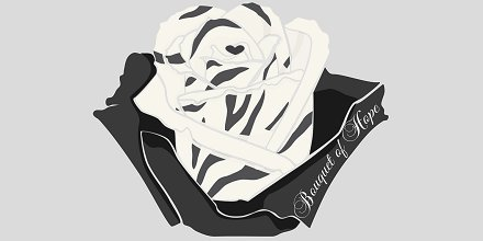 May is #EhlersDanlosSyndrome Awareness Month, represented by this zebra #awarenessrose. #EDS affects connective tissue, skin, joints, & blood vessels. It leads to overly flexible joints, elastic skin, wrinkles, & bruises. It usually takes years for diagnosis & #awareness is key.