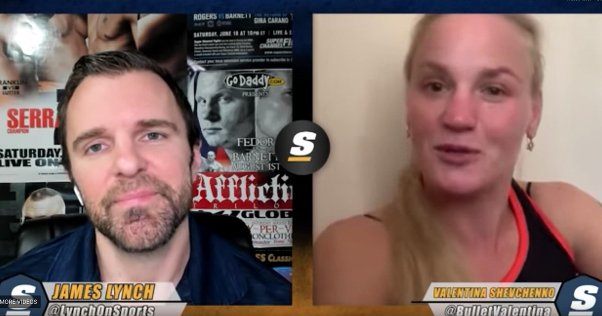 VIDEO: Valentina Shevchenko believes she'll finish Jessica Eye at UFC 238. https://thesco.re/2HyIXlP    (Via @LynchOnSports)