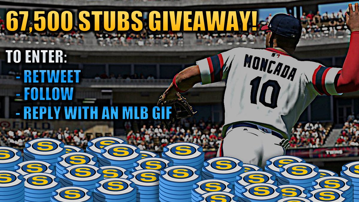 I will be giving away 67,500 Stubs courtesy of MLB The Show & San Diego Studios. Follow these steps to enter. One lucky person will have some extra currency for the weekend. Winner selected Saturday afternoon EST.