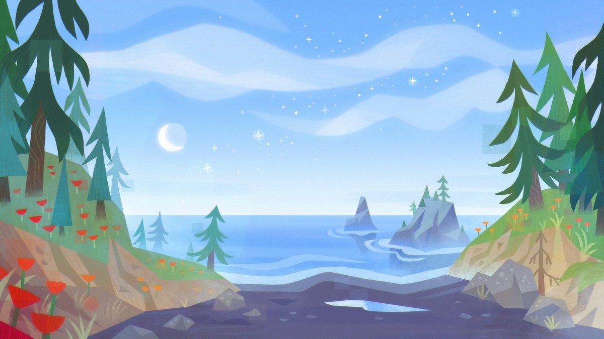 pacific coast 🌙
