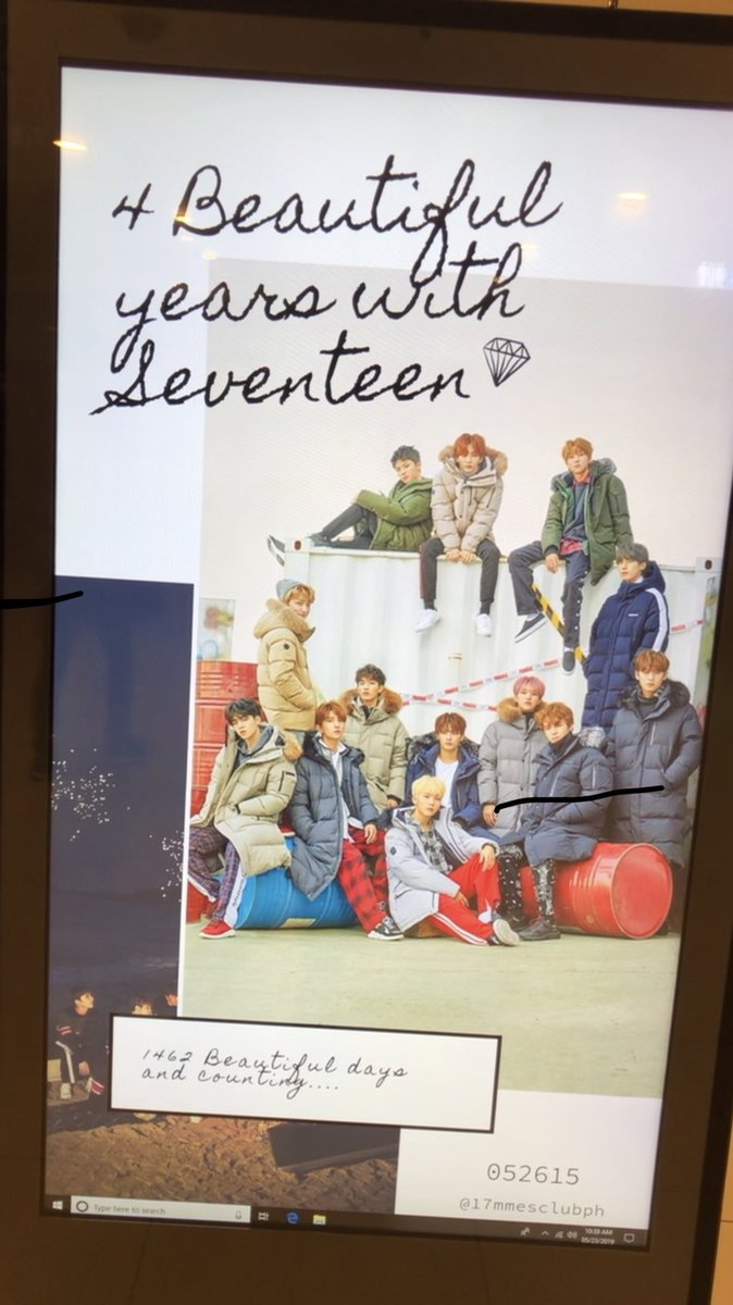 saw seventeen&#39;s ad for their 4th year anniversary!  i am so excited to celebrate @pledis_17&#39;s anniversary in a couple of days!    #4BeautifulYearsWith17<br>http://pic.twitter.com/2c7iJvJet8