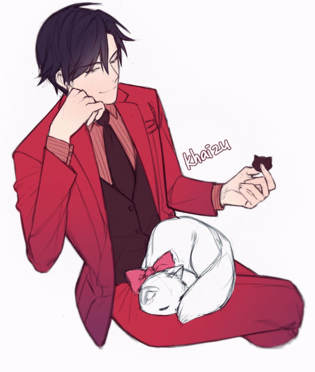 Warm up sketch Han Jumin Valentine day Thought i want to make my own MM zine..but don't have a guts to do it.. haha <br>http://pic.twitter.com/5WYN9mix7D
