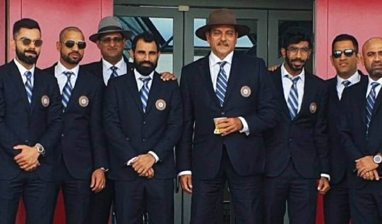 The Men in Blue - @cricketworldcup #TeamIndia #CWC19