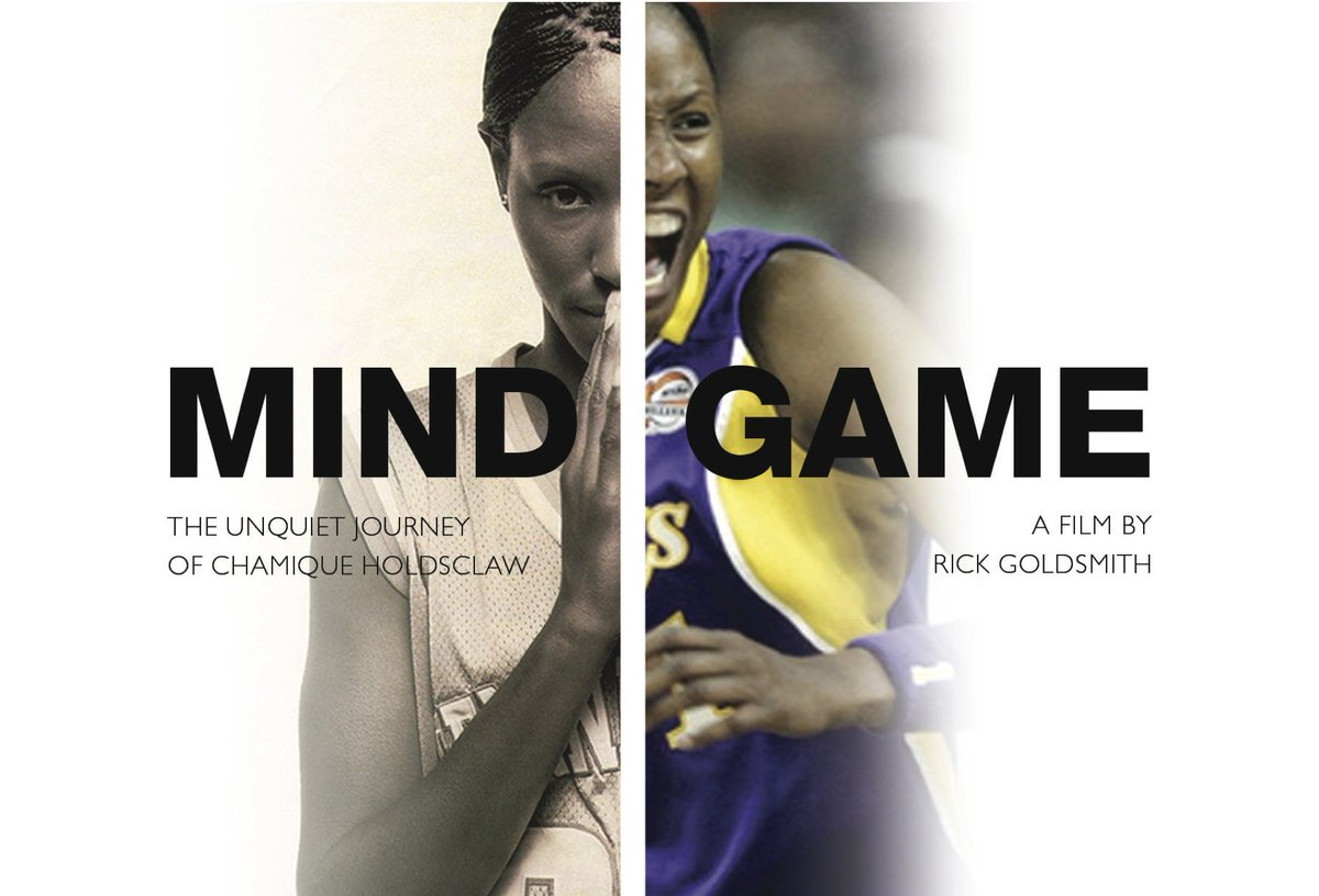 Our #BFFGrantWinner @MindGameFilm teamed up with @NBA and @jedfoundation in honor of #MentalHealthAwarenessMonth! Check out clips of @Chold1 & her mental health journey. Watch the entire doc film free until the end of May! https://cares.nba.com/chamique-holdsclaw/ … #mentalhealthmatters