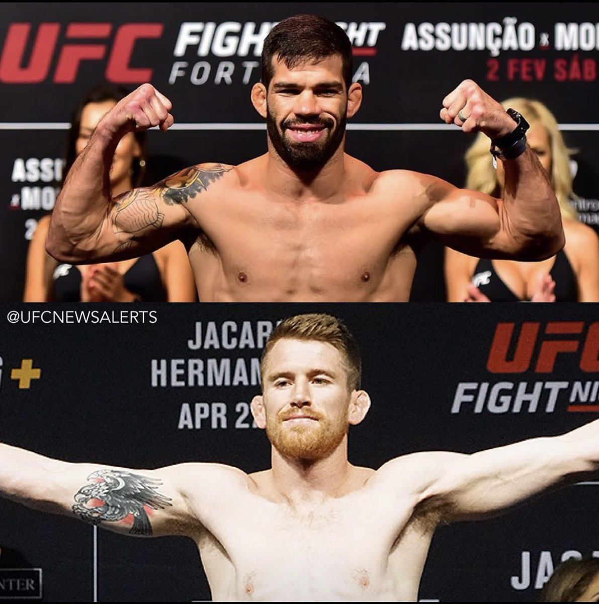 #8 ranked @cors_life takes on #2 ranked Raphael Assuncao at UFC 241 on August 17th in Anaheim, CA! #ElevationFightTeam #KeepClimbing